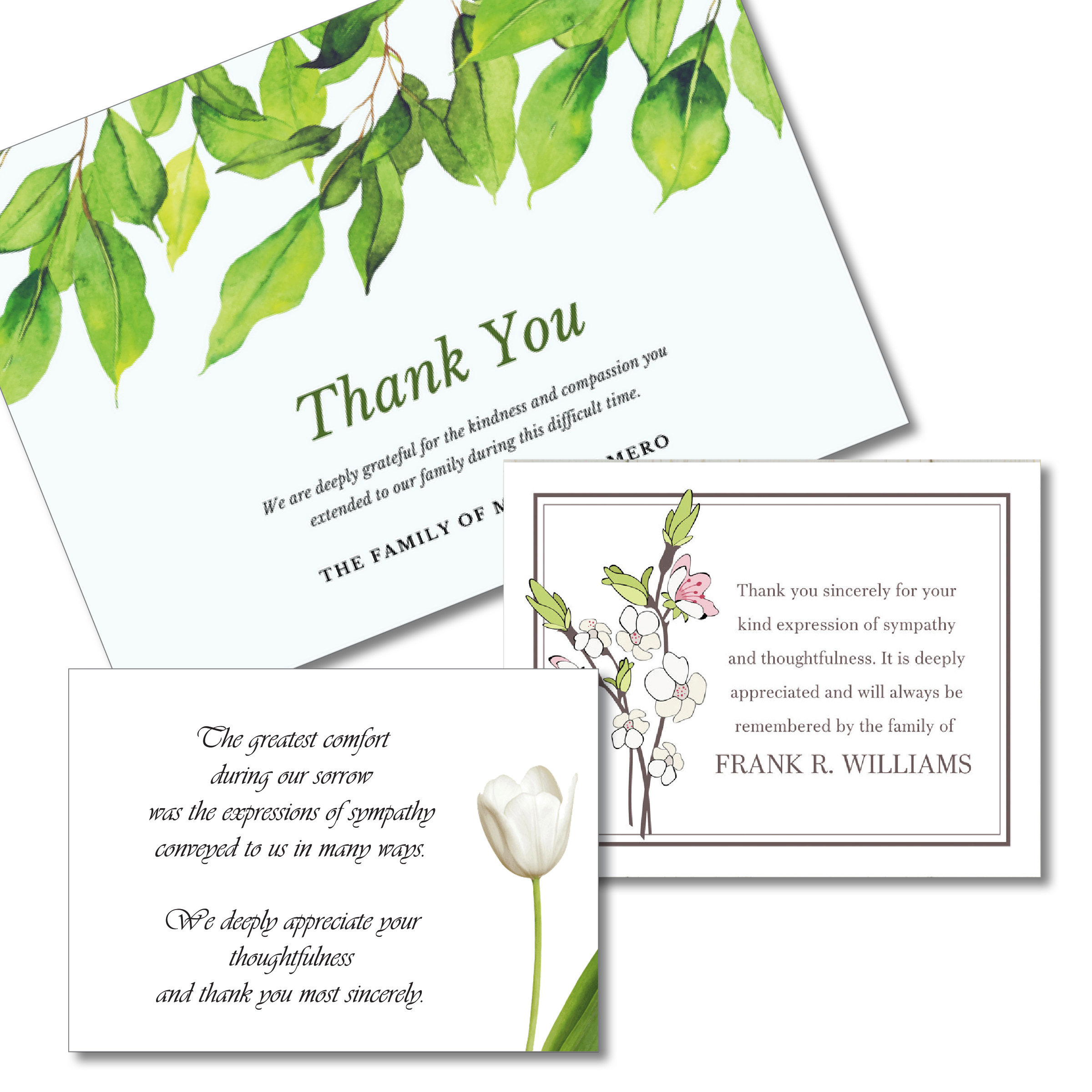 Funeral specialties archives 757 728 9770 localprinter4megmail bereavement thank you cards izmirmasajfo